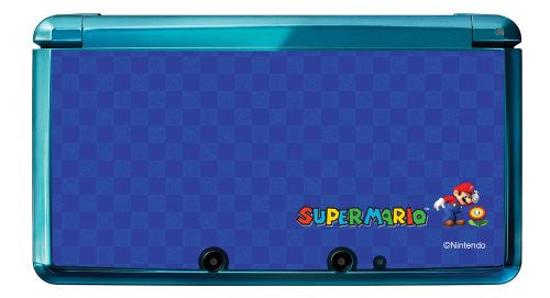 Image 2 for Super Mario Character Sticker 3DS (Blue)