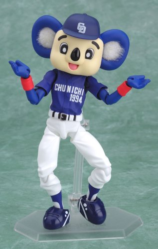 Image 7 for Chunichi Dragons - Doala - Figma #017 - Visitor Ver. (Max Factory)