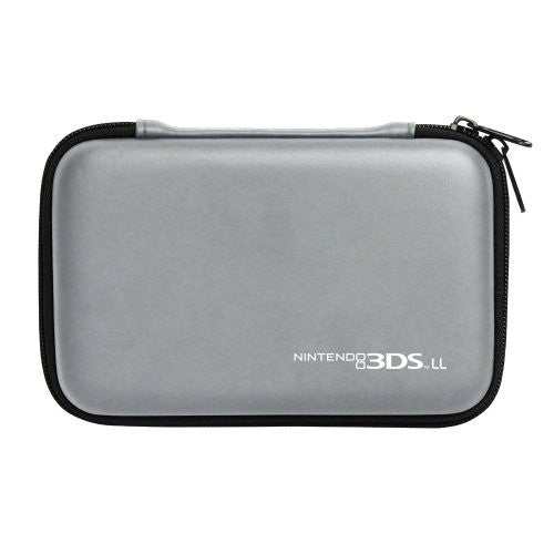 Image 2 for Hard Pouch for 3DS LL (Silver)