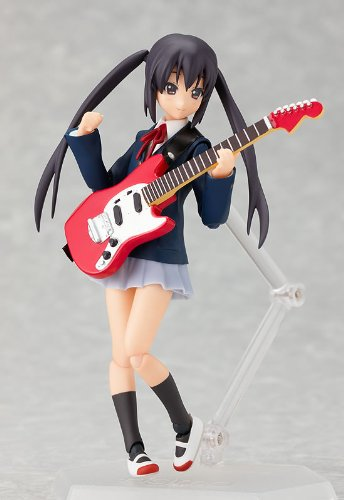 Image 3 for K-ON! - Nakano Azusa - Figma #061 - School Uniform Ver. (Max Factory)