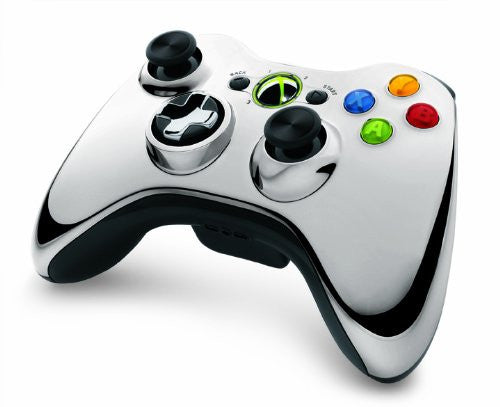 Image 4 for Xbox 360 Wireless Controller SE (Chrome Silver)