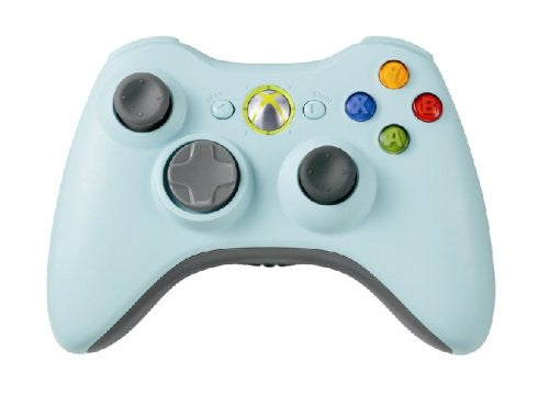 Image 1 for Xbox 360 Wireless Controller (Light Blue)