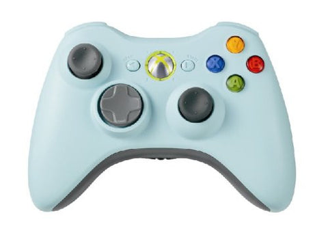 Image for Xbox 360 Wireless Controller (Light Blue)