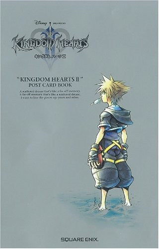 Image 1 for Kingdom Hearts 2 Postcard Book