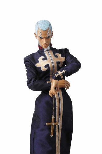 Image 3 for Jojo no Kimyou na Bouken - Stone Ocean - Enrico Pucci - Green Baby - Real Action Heroes #522 - 1/6 (Medicom Toy)