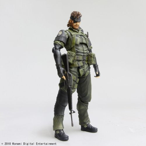 Image 2 for Metal Gear Solid Peace Walker - Naked Snake - Play Arts Kai - Jungle Fatigues (Square Enix)