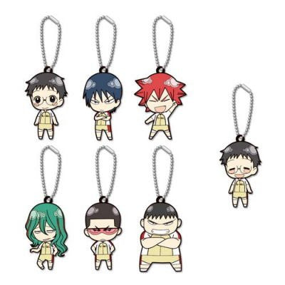 Yowamushi Pedal - Naruko Shoukichi - Keyholder - Rubber Strap - Yowamushi Pedal Rubber Keychain Collection Vol.1 (TMS Entertainment)