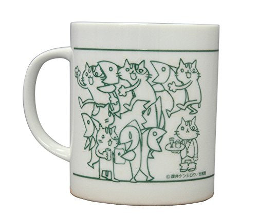 Image 2 for Sakana & Neko - Mug - Green (Algernon Product)