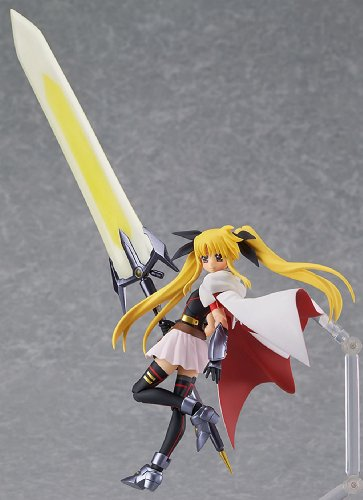 Image 3 for Mahou Shoujo Lyrical Nanoha The Movie 2nd A's - Fate Testarossa - Figma #186 - Blaze Form ver. (Max Factory)