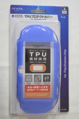 Image 1 for TPU Protector Cover for PlayStation Vita (Blue)