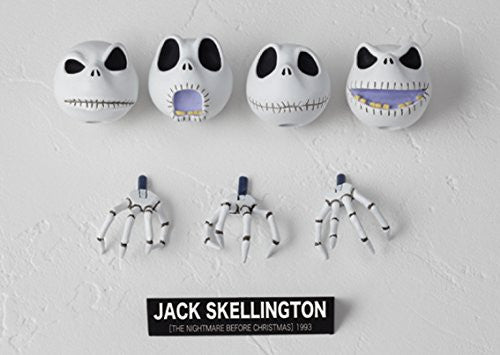 Image 2 for The Nightmare Before Christmas - Jack Skellington - Legacy of Revoltech LR-042 - Revoltech - Revoltech SFX #05 (Kaiyodo)