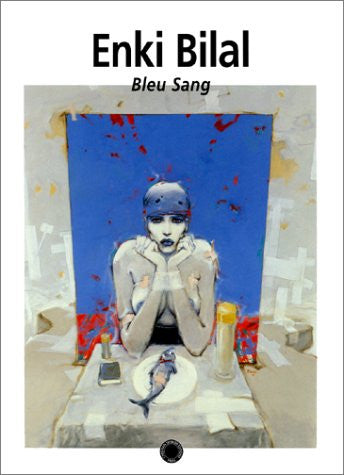Image for Enki Bilal Artworks Bleu Sang Illustration Art Book
