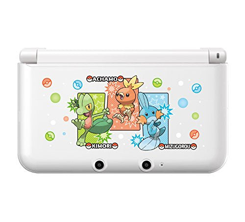 Image 2 for Pokemon Hard Cover for 3DS LL (Treecko Torchic Mudkip)