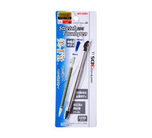 Image 1 for Stretch Touch Pen for 3DS LL (Black)