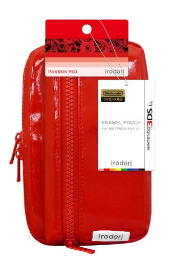 Image 2 for Enamel Pouch for 3DS LL (Passion Red)
