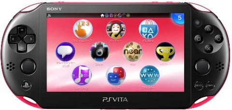 Image for PlayStation Vita Wi-fi Model Pink Black (PCH-2000)