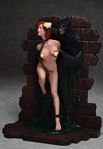 "Image 5 for Shungo Yazawa Original Figure Series - Hell Seducer ""Toraware no Hana"" - 1/6 - Red Hair ver. (Blackberry)"