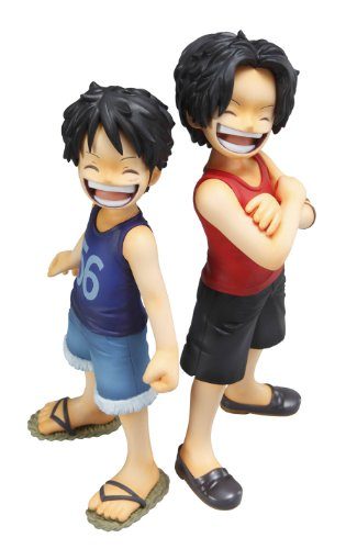 Image 3 for One Piece - Monkey D. Luffy - Portrait Of Pirates MILD - Excellent Model - 1/8 - CB-EX Brothers Bond (MegaHouse)