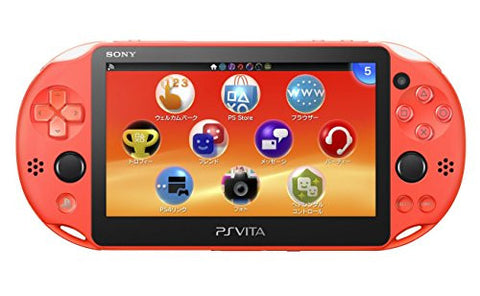 Image for PSVita PlayStation Vita - Wi-Fi Model (Neon Orange) (PCH-2000ZA24)