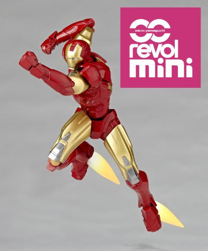 Image 6 for Iron Man 2 - Iron Man Mark VI - Revolmini rm-003 - Revoltech (Kaiyodo)