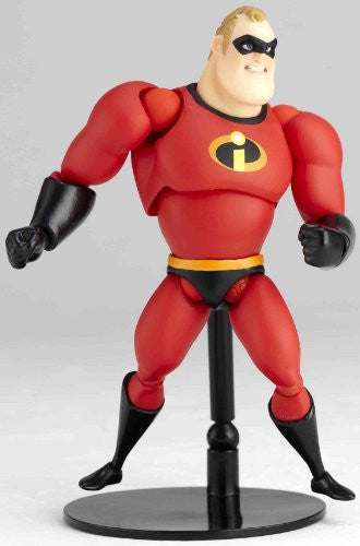 Image 6 for The Incredibles - Mr. Incredible - Revoltech - Revoltech Pixar Figure Collection - 4 (Kaiyodo Pixar The Walt Disney Company)