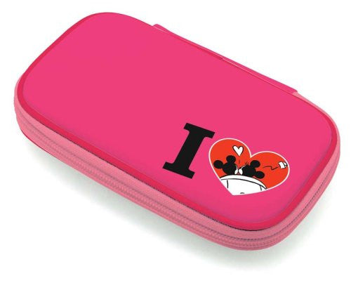 Image 2 for Disney Character Hard Pouch DSi (Minnie Pink)