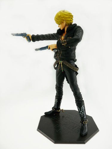 Image 4 for One Piece - Sanji - Door Painting Collection Figure - 1/7 - The Three Musketeers Ver. (Plex)