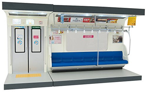 Image 1 for Parts Models Series 1/12 Interior Model Commuting Train  - (Blue Sheet) (Tomytec, Takara Tomy)