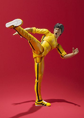 Image 5 for Game of Death - Bruce Lee - S.H.Figuarts - Yellow Track Suit (Bandai)
