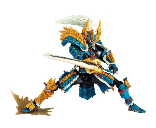 Image 7 for Monster Hunter - Hunter - Revoltech #133 - Jinouga Series (Kaiyodo)