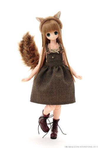 Image 12 for Chiika - Ex☆Cute 9th Series - PureNeemo - 1/6 - Komorebimori no Doubutsutachi ♪, Squirrel (Azone)