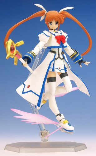 Image 4 for Mahou Shoujo Lyrical Nanoha StrikerS - Takamachi Nanoha - Figma - Barrier Jacket - 005 (Max Factory)