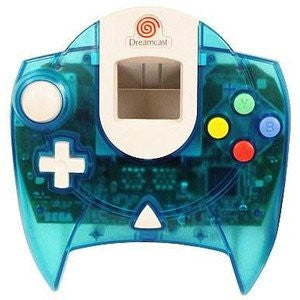 Dreamcast Controller Aqua Blue (no box/manual)