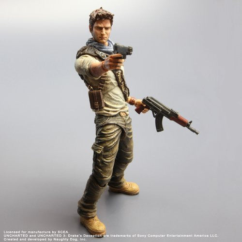 Uncharted 3 - Nathan Drake - Play Arts Kai (Square Enix)