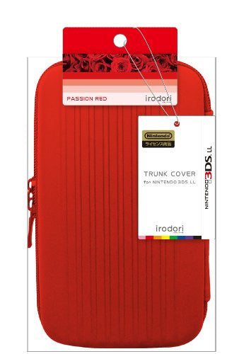 Image 2 for Trunk Cover for 3DS LL (Passion Red)