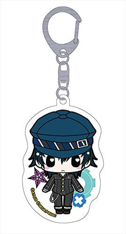 Image for Persona 4: the Golden Animation - Shirogane Naoto - Deka Keyholder - Keyholder (Penguin Parade)