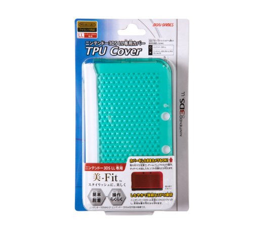 TPU Cover for 3DS LL (Clear Mint)