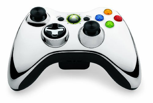 Image 2 for Xbox 360 Wireless Controller SE (Chrome Silver)