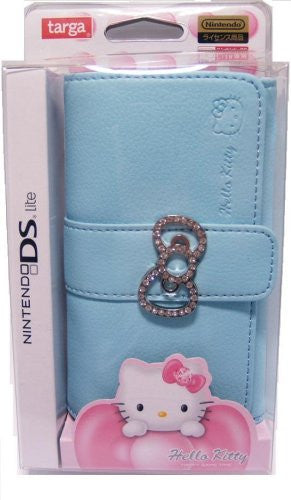 Image 1 for Hello Kitty Jewel Pouch (Light Blue)