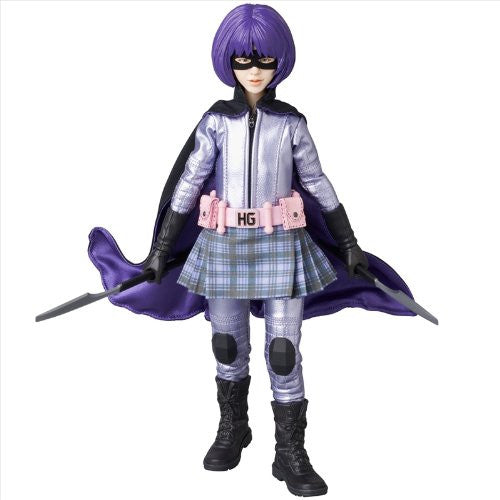 Image 3 for Kick-Ass - Hit-Girl - Real Action Heroes #677 - 1/6 (Medicom Toy)