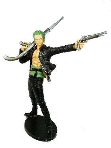 Image for One Piece - Roronoa Zoro - Door Painting Collection Figure - 1/7 - The Three Musketeers Ver. (Plex)