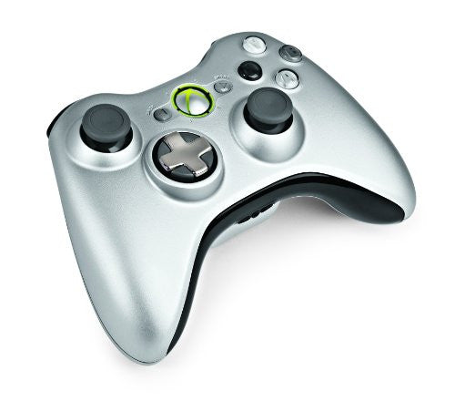 Image 1 for Xbox 360 Wireless Controller with Transforming D-Pad and Play and Charge Kit (Silver)