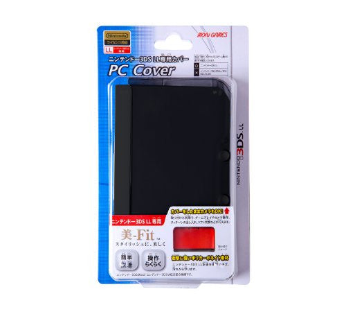Image 1 for PC Cover for 3DS LL (Clear Black)