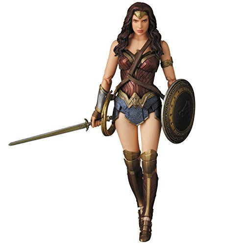 Image 1 for Batman v Superman: Dawn of Justice - Wonder Woman - Mafex No.024 (Medicom Toy)