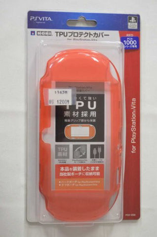 Image for TPU Protector Cover for PlayStation Vita (Red)
