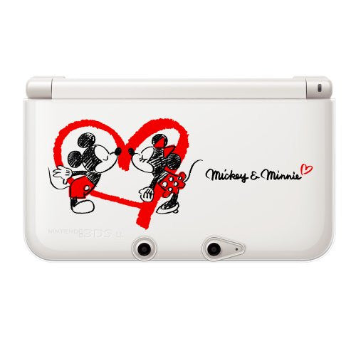 Image 4 for Disney Character TPU Cover for 3DS LL (Micky & Minnie Heart Version)
