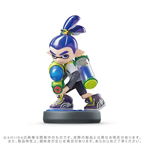 Image 4 for amiibo Splatoon Series Figure Triple Set (Girl / Ika / Boy)