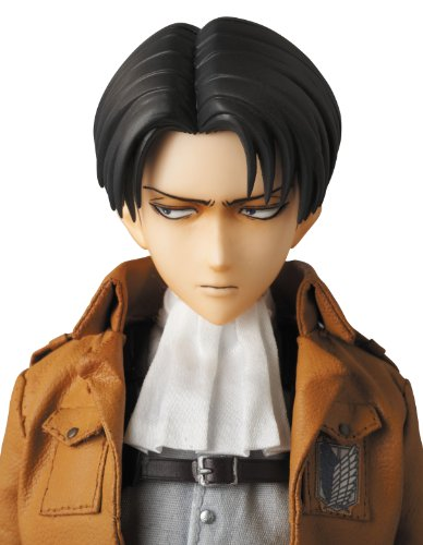 Image 8 for Shingeki no Kyojin - Levi - Real Action Heroes #662 - 1/6 (Medicom Toy)