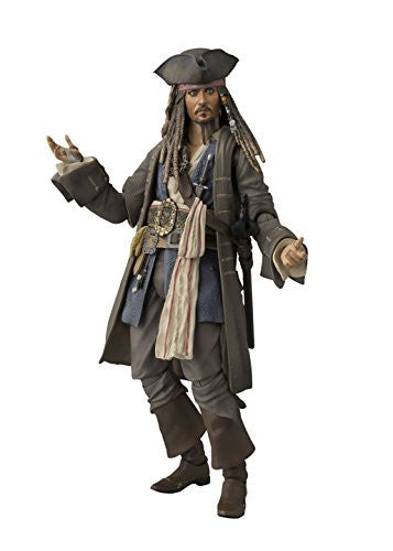 Image 1 for Pirates of the Caribbean: Dead Men Tell No Tales - Jack Sparrow - S.H.Figuarts