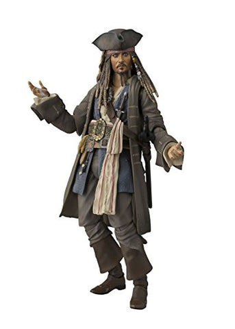 Image for Pirates of the Caribbean: Dead Men Tell No Tales - Jack Sparrow - S.H.Figuarts